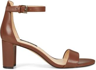 Nine West Pruce Ankle Strap Block Heel Sandals