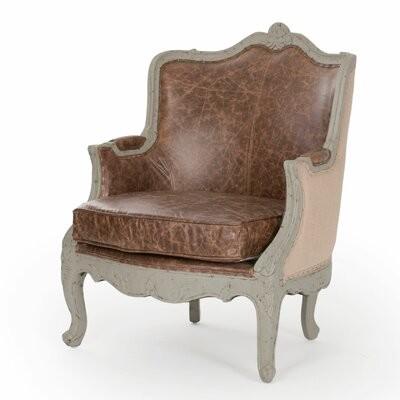"One Allium Way Fredrik 29"" Wide Wingback Chair"