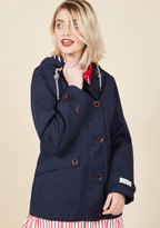 Joules Rainy Day Dreamer Waterproof Jacket in Navy in 12