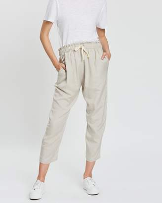 Silent Theory Linen Fluid Pants