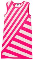 Milly Minis Stripe Knit A-Line Dress (Big Girls)