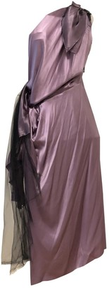 Roksanda Ilincic Purple Silk Dress for Women