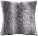 Madison Park Zuri 20-Inch Square Throw Pillow in Grey
