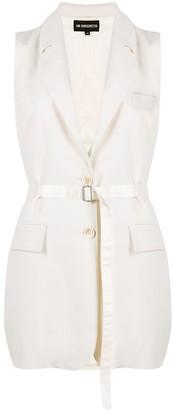 Ann Demeulemeester Belted Long-Line Waistcoat