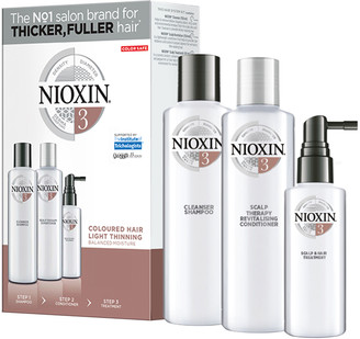 Nioxin 3-Part System Kit 3 For Colored Hair With Light Thinning