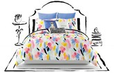 Kate Spade Paintball Floral Duvet Cover & Sham Set