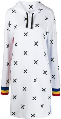 Rossignol x JCC X-print sweatshirt dress