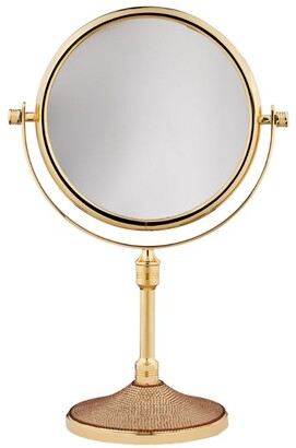 Zodiac Standing Double-Sided Mirror with Swarovski Crystals