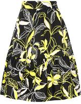 Splendid Printed Cotton-Poplin Skirt