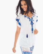 Chico's Summer Embroidery Tunic