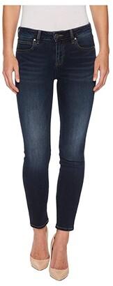 KUT from the Kloth Diana Kurvy Skinny in Likable (Likable/Dark Stone Base Wash) Women's Jeans