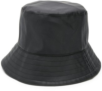 Manokhi Faux Leather Bucket Hat
