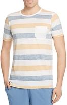 Daniel Buchler Stripe Pima Cotton-Modal Tee