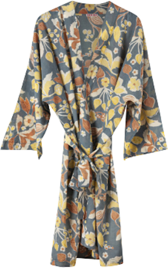 Thumbnail for your product : Margaux Blue Floral Print Kimono