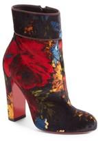 Christian Louboutin Women's Moulamax Floral Velvet Bootie
