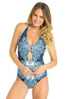 Sunseeker Apache Double Ring Halter One Piece