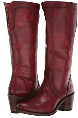 Corral Boots E1499 (Burgundy) Women's Boots