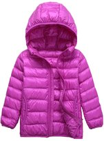 Sawadikaa Unisex Baby's Ultra Weight Hooded Pillow Padded Down Jacket Bodywarmer
