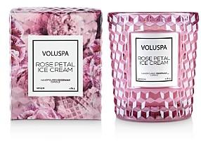 Voluspa Rose Petal Ice Cream Candle