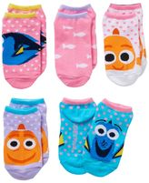 Disney Pixar Finding Dory Girls 4-16 Nemo & Dory No-Show Socks