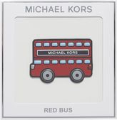 Michael Kors Jet set go red bus sticker