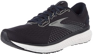 Brooks Glycerin 18 SINGLE SHOE (Black/Ebony/Blue) Men's Shoes