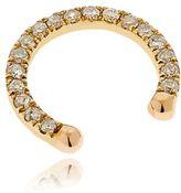 Diamond & Gold Septum Nose Ring