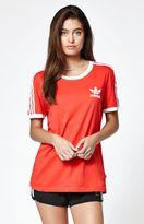 adidas 3-Stripes Crew Neck Ringer T-Shirt