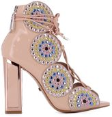 Kat Maconie Pink Leather Sandals