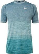 Nike Running Mélangé Knitted Dri-Fit T-Shirt