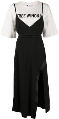 Off-White Free Winona layered dress