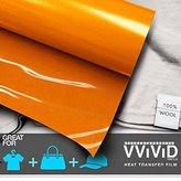 """VViViD HTV 12"""" x 3ft (36"""") Heavy-Duty Iron-on Heat Transfer Vinyl Film"""
