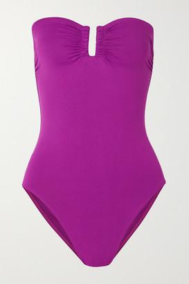 Eres Les Essentiels Cassiopee Bandeau Swimsuit - Violet
