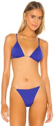 Vix Paula Hermanny Chain Bikini Top
