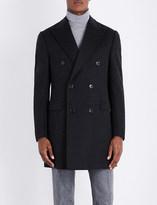 Corneliani Double-breasted wool coat