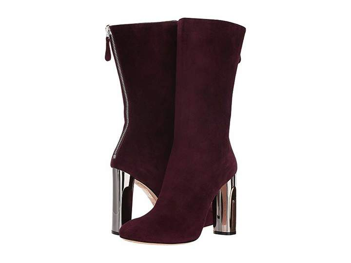 Alexander McQueen Sculpted Heel Fitted Bootie
