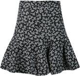Carven floral print skirt
