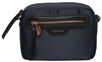 Mocha Kimi Box Crossbody Bag - Navy