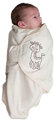 Bo Jungle B-Wrap Swaddle Blanket (Small, Organic Giraffe)