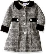Blueberi Boulevard Little Girls' Boucle Coat/Dress Set