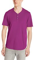 Velvet by Graham & Spencer Men's Fulton Short Sleeve Crew Neck Henley