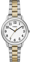 Timex Women's Easy Reader Two-Tone Bracelet Watch