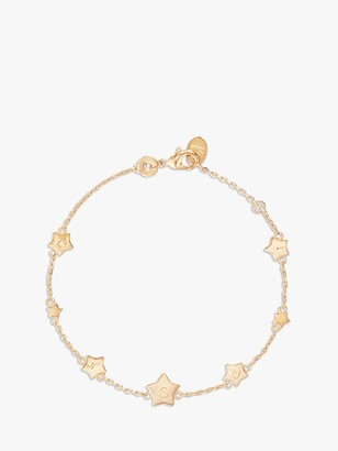 Womens Solid Gold Charm Bracelet Shop The World S Largest Collection Of Fashion Shopstyle Uk