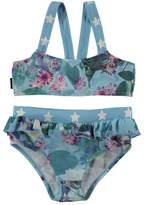 Molo Naila Floral Bikini with Star Detail, Size 9M-10