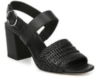 Via Spiga Evelyne Woven Leather Sandal