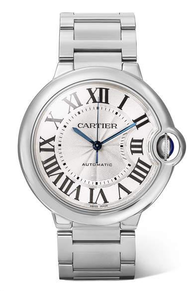 Cartier Ballon Bleu De 36.6mm Stainless Steel Watch - Silver