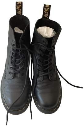 Dr. Martens Black Leather Boots