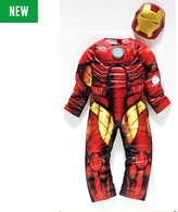 Marvel Iron Man Fancy Dress Costume - 3-4 Years