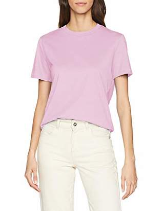 Selected Women's SLFMY Perfect SS TEE Box Cut Color T-Shirt, Gumdrop Green, S