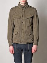 Moncler Lut patch-pocket cotton-jersey jacket